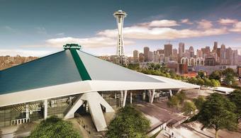 KeyArena Renovation Breaks Grown in Seattle