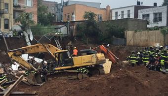 Brooklyn Construction Site Collapse Kills 1