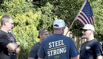 Steel Workers Vote to Authorize Strike