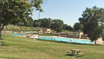 WI Public Pool in Need of Paint Job