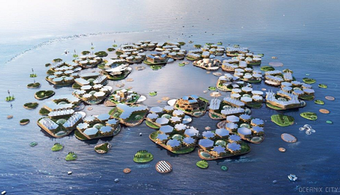 Plans for Proposed Floating City Unveiled