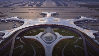 c7ad1dd0cbe Snowflake Design Revealed for China Airport