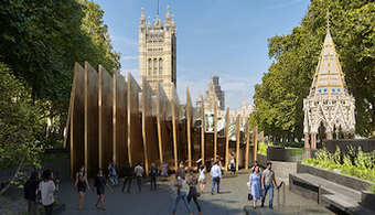 Adjaye Answers Questions at Holocaust Memorial Inquiry