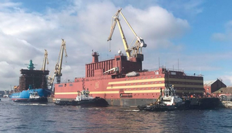 Russian Floating Nuclear Plant Begins Operation