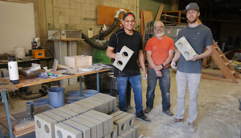 Researchers Create Drywall Bricks for Housing