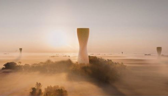 Towers Proposed to Alleviate Air Pollution