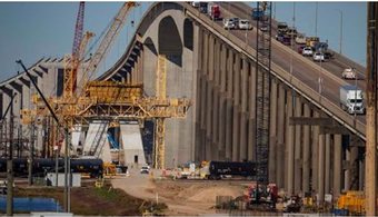Houston Ship Channel Bridge Construction Halted
