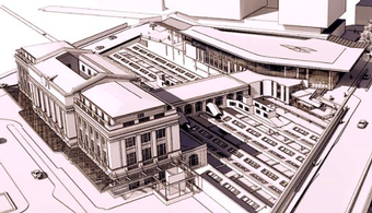Baltimore Penn Station Plans Redevelopment