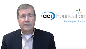 ACI President Announces Foundation Funding Challenge