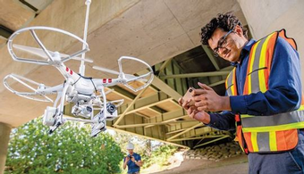 Drones Aim to Prevent Infrastructure Disasters