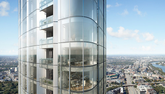 Coatings Revealed for Boston Luxury High-Rise