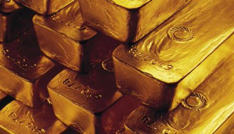Federal Officials Seize Painted Gold