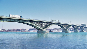 Bids Wanted for Peace Bridge Pier Recoating