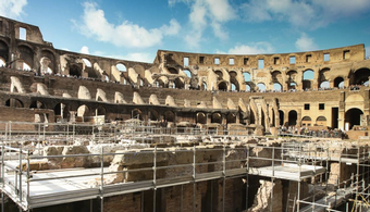 Rome Colosseum Tunnels Open to the Public