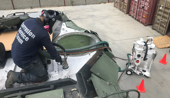 Marine Corps Research Blast Booth Productivity
